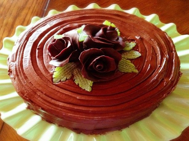 Hershey's Chocolate Cake With Frosting