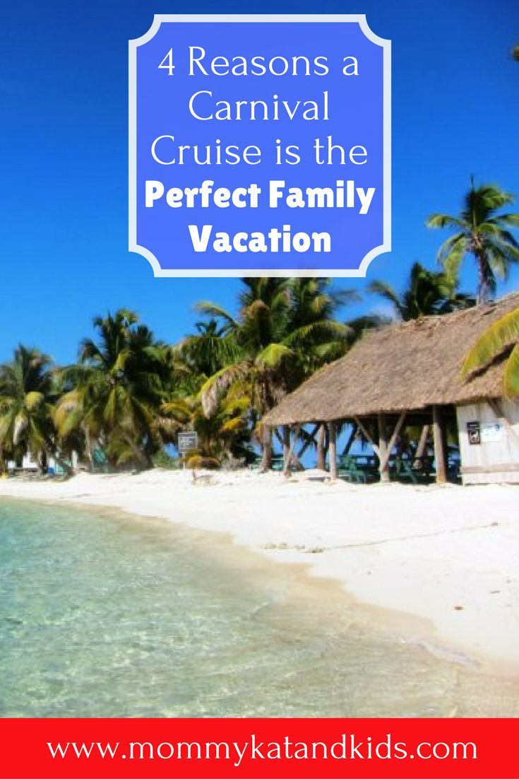 Are you planning your family vacation for this year and you�re tired of the same old vacations you�ve always done? Try a Carnival Cruise this year! It�s the PERFECT family vacation and will leave you wondering why you haven�t done one before. Carnival cru