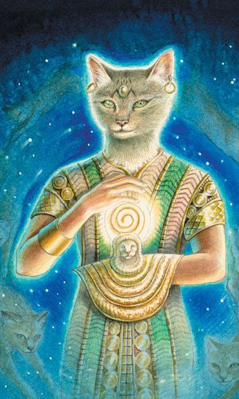 Animals Divine Tarot: 10 Best Images About Cats In Tarot: Miscellaneous On