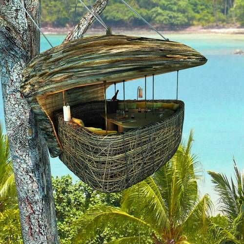 Treepod Dining in Thailand.. so cool!: Soneva Letter, Dining Pod, Favorite Places, Sonevakiri, Tree Houses, Thailand, Travel, Space, Treehouses