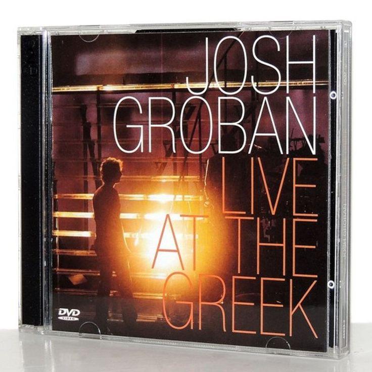 Josh Groban Live at the Greek CD Nov-2004 Plus DVD + Believe Polar Express Song