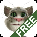 $0.00--Talking Tom Cat Free--PLEASE NOTE: When running the app for the first time you will be required to download additional 3-25 MB to get the best graphics quality for your device.    Enjoy hours of fun and laughter with Talking Tom. He is especially fun for children of all ages.