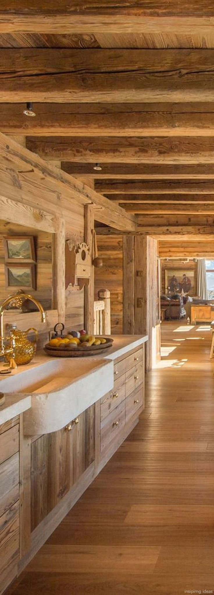 135 Rustic Log Cabin Homes Design Ideas