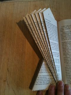 Five Go Blogging: How To Make Angels and Christmas Trees From A Paperback Book