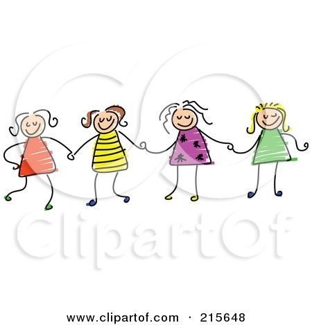4 sisters clipart - Google Search