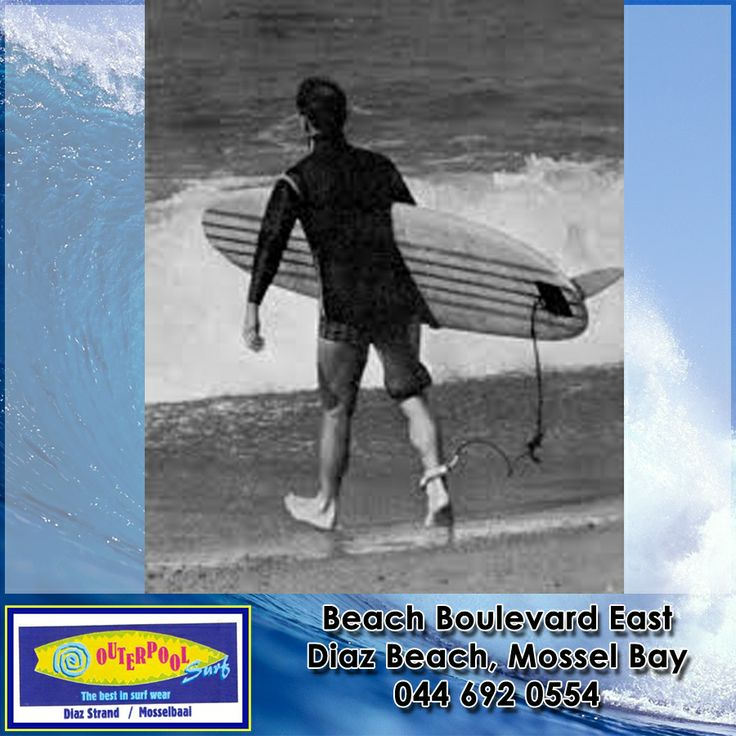 Surf History! surfboard leashes have not been around forever, in fact they were invented in 1971 by Pat O'Neill, son of wetsuit inventor Jack O'Neill. Early leashes were made of surgical tubing, and as the story goes, Jack O'Neill lost his eye due to the leash flinging the board back at him. Today's leashes are made of a urethane cord and are a bit safer. #Surf #history #surfboardleash