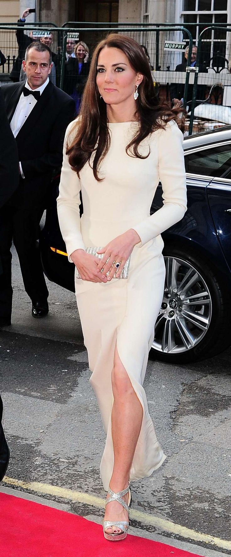 Kate Middleton proves that you don't need a lot of jewelry to look elegant. Simple designs that flatter your shape look fabulous on anyone.