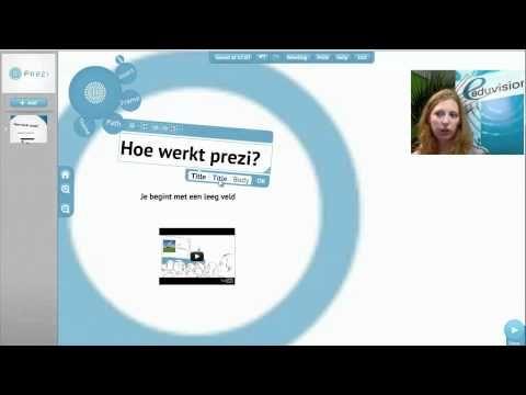 Cursus Prezi presentatie maken in 5 minuten