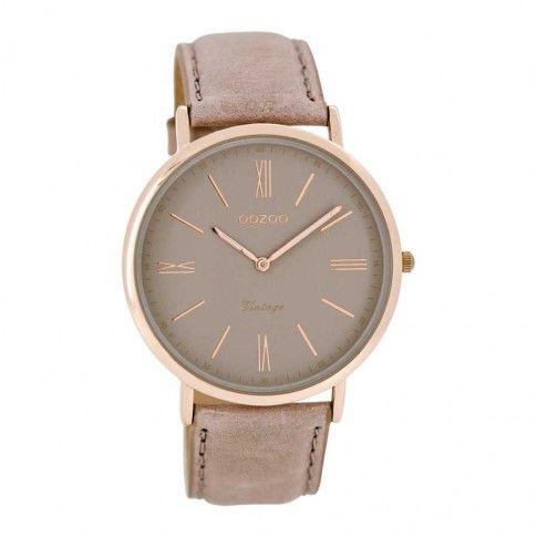 OOZOO Vintage horloge Beige C7352