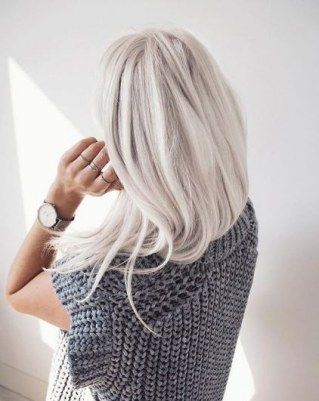 Haarfarben Trends 2017: Silber