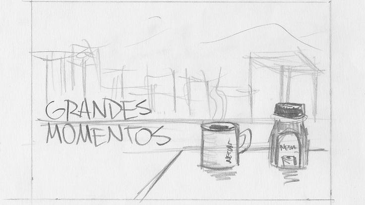 """Pack Shot de nuestro Spot """"Nescafe Grandes Momentos"""""""