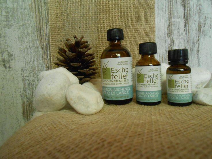 OLIO ESSENZIALE PURO AL LEGNO DI LARICE http://www.wellteca.it/wp/aromaterapia-di-montagna-oli-essenziali/