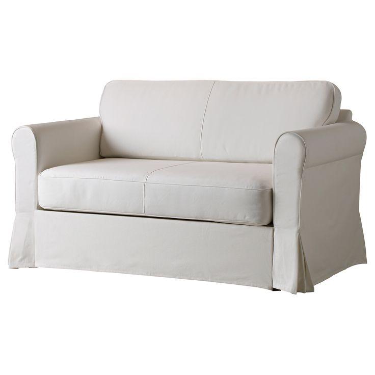 HAGALUND Bezug 2er-Bettsofa - Blekinge weiß - IKEA