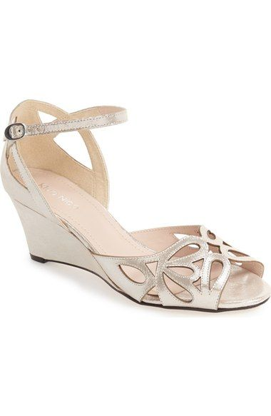 Cut-out silver wedges