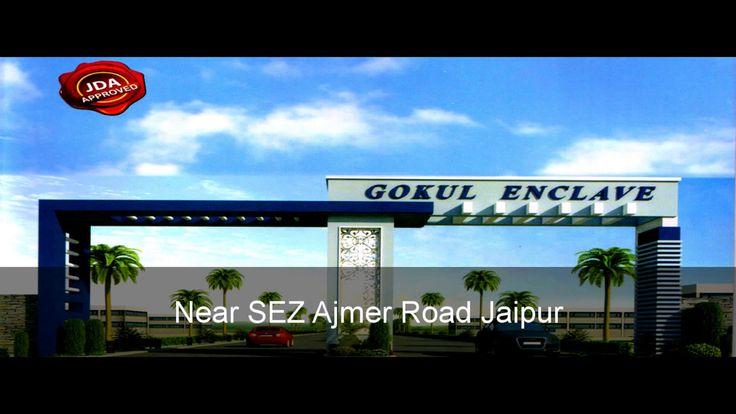 GOKUL ENCLAVE JDA APPROVED PLOT FOR SALE NEAR SEZ AJMER ROAD JAIPUR