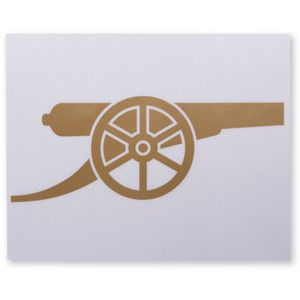 Cannon Sticker at Arsenal Direct ($1-20) - Polyvore