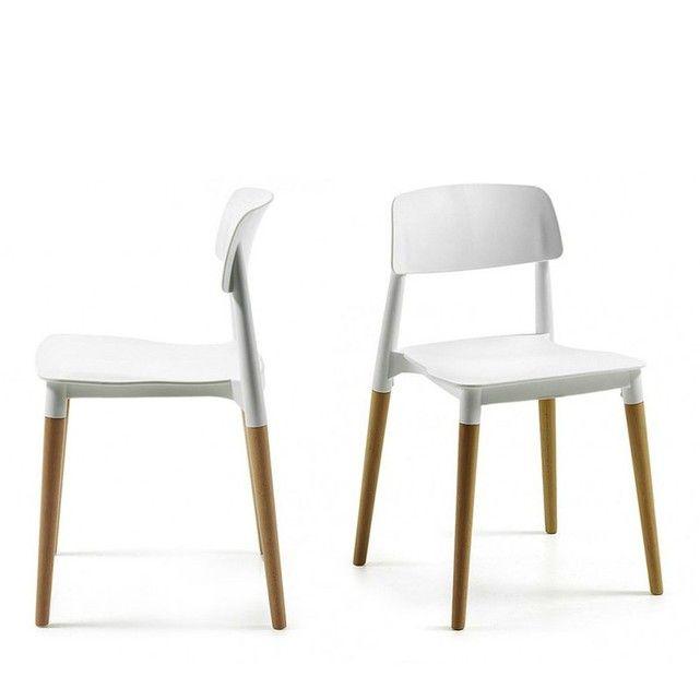 Chaises Design Scandinave Glamwood Par Drawer Une Chaise Elegante Avec Son Mix De Bois Blond Het Chaises De Table A Manger Chaise Design Chaise Salle A Manger