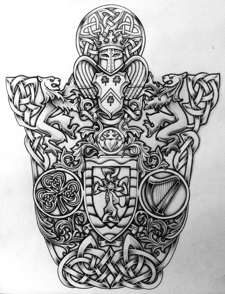 celtic coat of arms by tattoo design on deviantart celtic pinterest tattoo designs arms. Black Bedroom Furniture Sets. Home Design Ideas