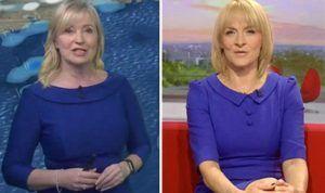 BBC weather: Carol Kirkwood and Louise Minchin wear identical dress | TV & Radio | Showbiz & TV – WORLD CENTER