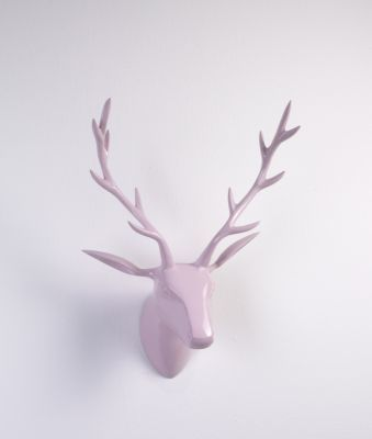Amazing Artra Design Deko Geweih Hirschkopf rosa Gr e M Wandfigur Wanddeko Hirschgeweih Hirschkopf Geweih und Skulptur Jetzt bestellen unter