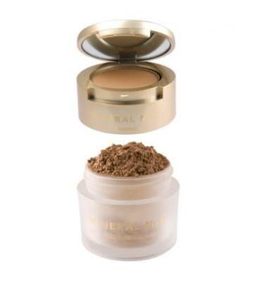 Puder mineralny Cover&Finish 2 w 1, Senna Cosmetics