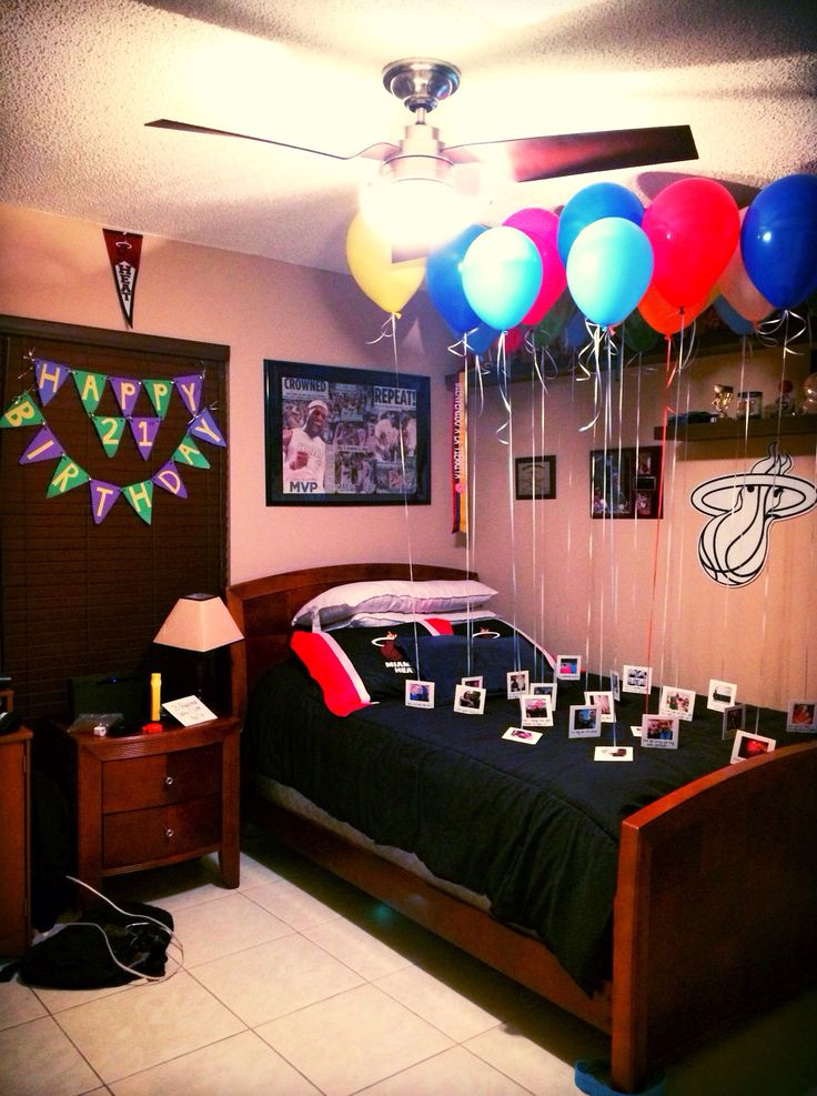 Birthday Room Decoration Ideas For Boyfriend Image Inspiration of