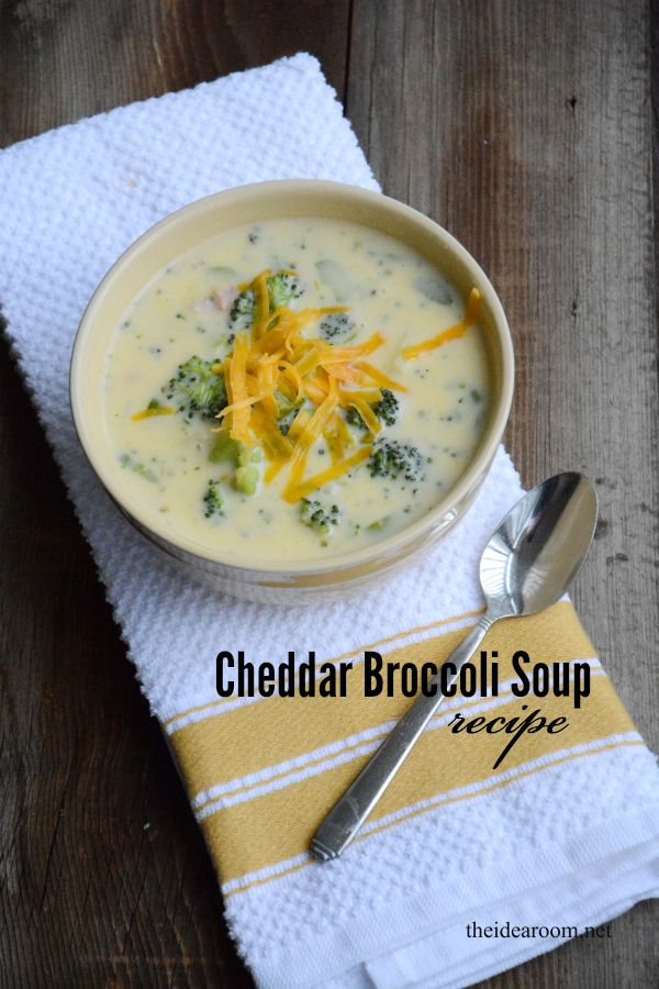 Broccoli Cheddar Soup makes for a perfect weeknight dinner. Easy to make and super tasty. Your whole family will beg you to make it again and again.