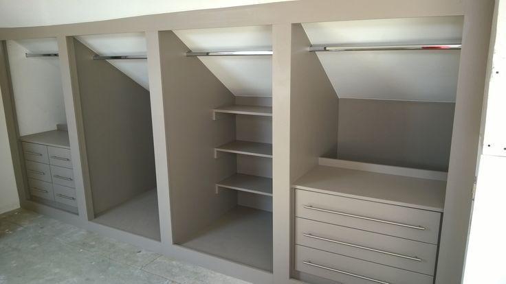 Schlafzimmer Schrank DesignIdeen Attic bedroom storage