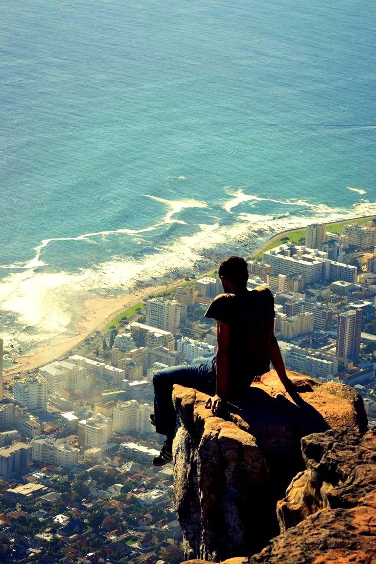 Avoir la tête dans les nuages et les pieds sur terre ! I #AfriqueDuSud I