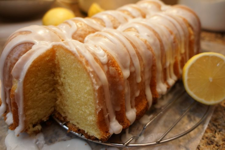 Buttermilk Lemon Pound Cake | this recipe was adapted from a land o lakes recipe and a southern ...