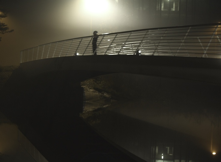 Bridge at fog..