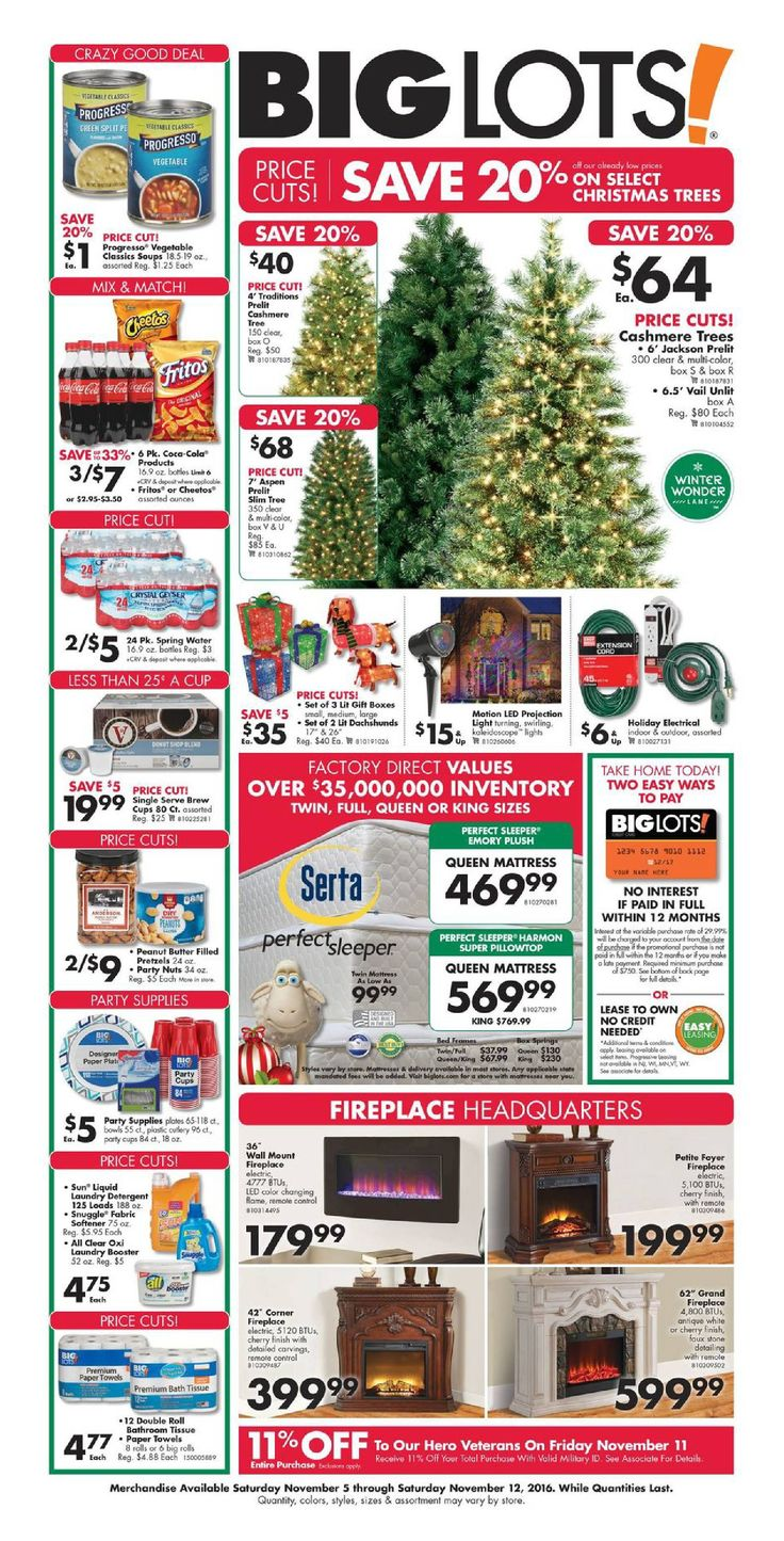 Big Lots Furniture November 5 - 12, 2016 - http://www.olcatalog.com/home-garden/big-lots-weekly-ad.html