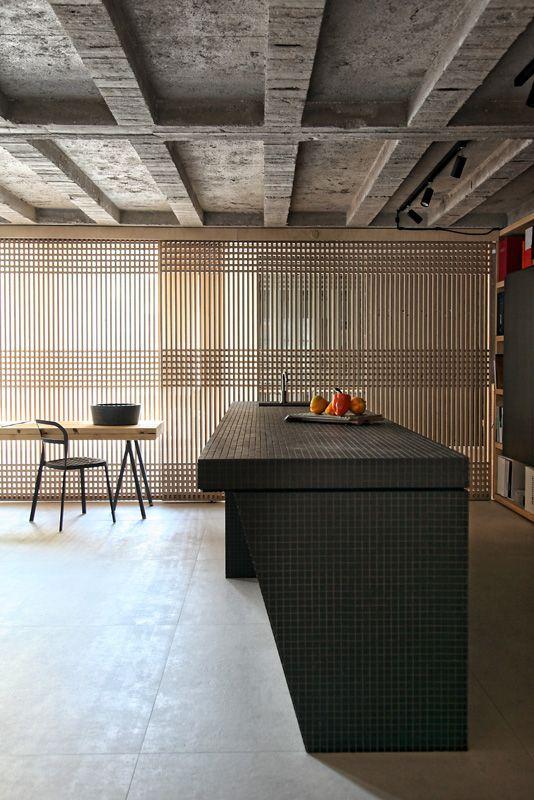 Loft in Athens, kitchen, industrial, design ideas, esestudio architects