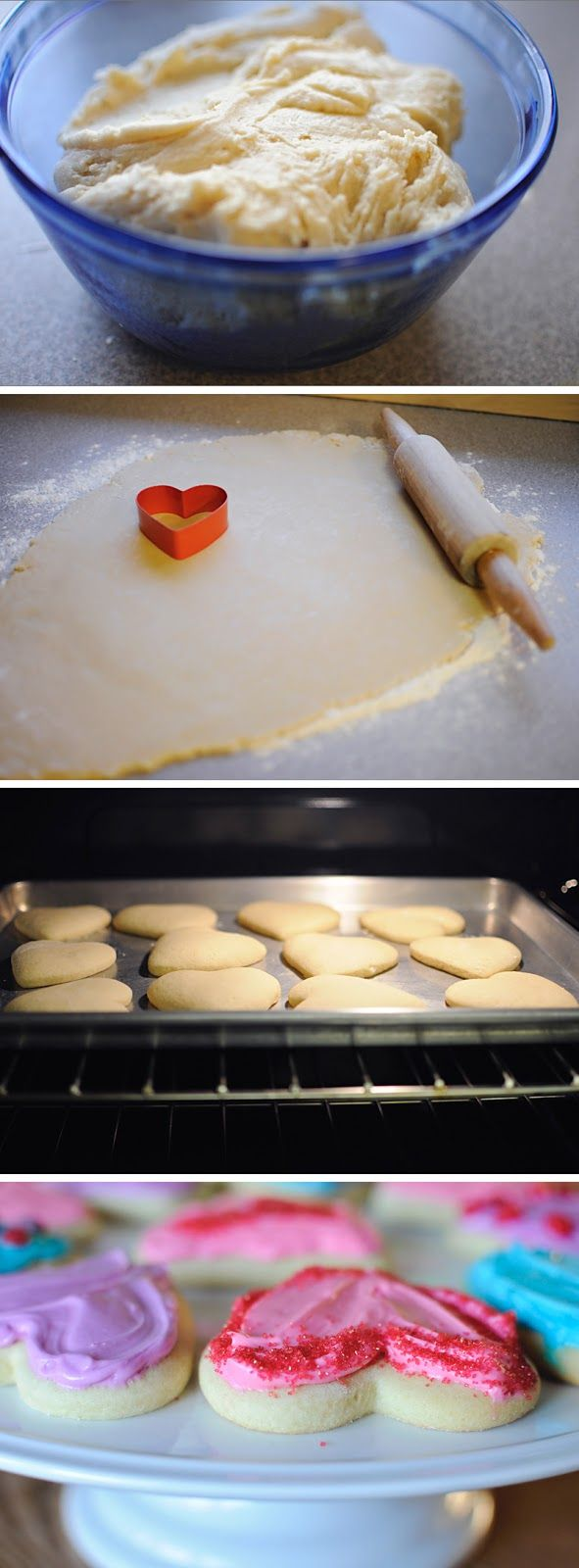 Best Ever Sugar Cookies.   I substituted almond for the vanilla in the icing.