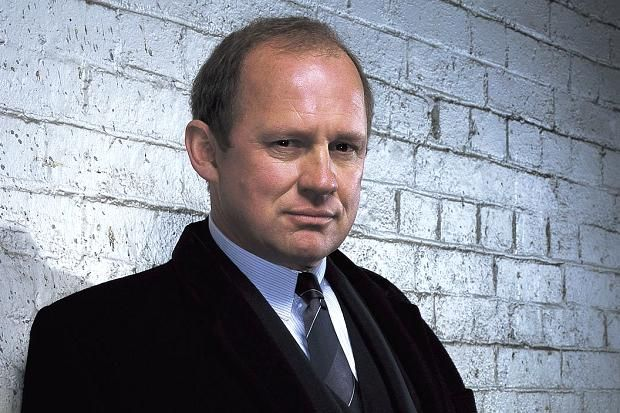 Peter Firth from Spooks. He's incredibly sexy as Harry Pearce.