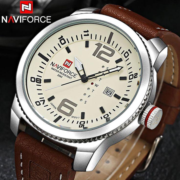 NAVIFORCE brand watches men quartz Sports watches 3ATM waterproof Japan fashion military Wristwatch Male Relogio Masculino 2016