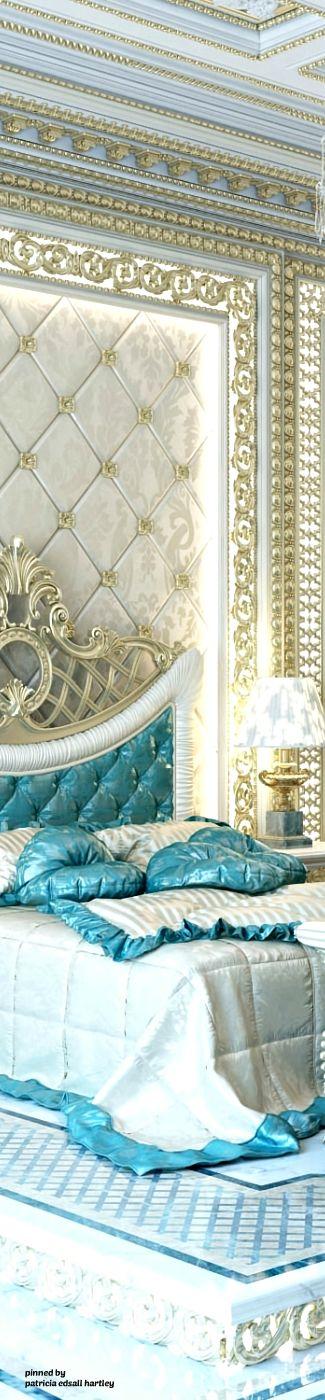 ~ Exculsive Royal Master Bedroom Design ~ | Patricia Edsall Hartley | antonovich-design.ae