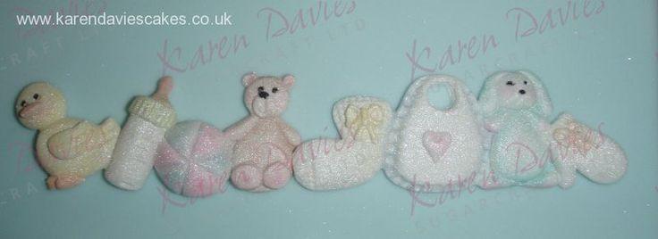 Border Moulds: Nursery border - Karen Davies Moulds
