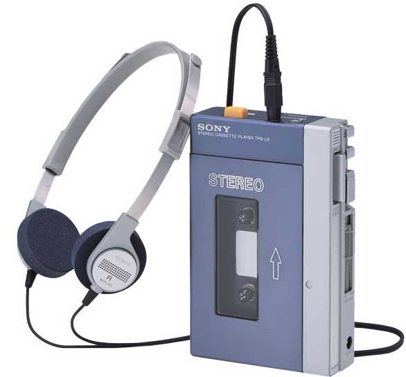 Sony Walkman TPS-L2 1979 - the first real stereo, portable, hi-fi. This device changed the way we listened to music. Music went from being a communal thing, a shared experience, to a personal one, a way you could isolate yourself in public.