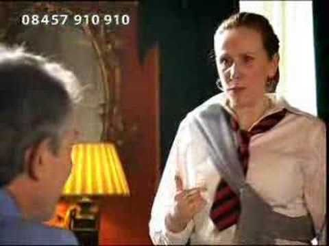 Another short skit with Catherine Tate (who played Donna on Doctor Who) with Tony Blair.....Hilarious!!!! :)