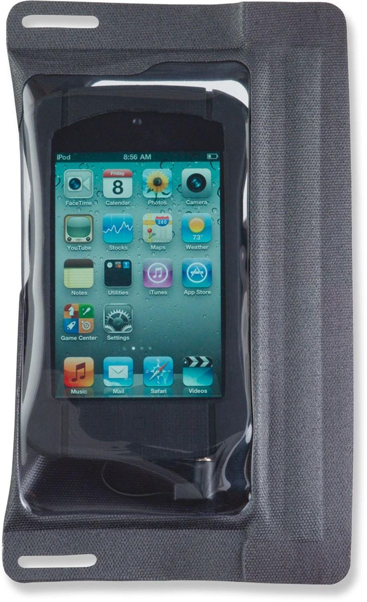 Rainy game day? No problem! E-Case iSeries Case with Jack - iPod/iPhone 4.