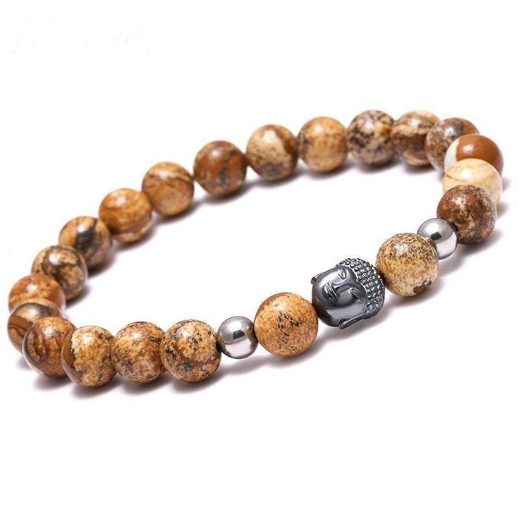 Buddha Beads Positive Energy Bracelet