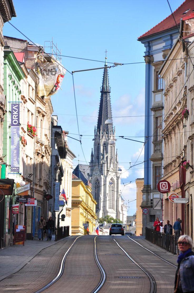 Paseando por las calles de Olomouc