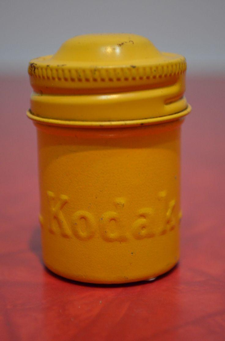 Vintage Kodak Film Canister (Yellow) http://cnctbay.wix.com/crowe-s-nest