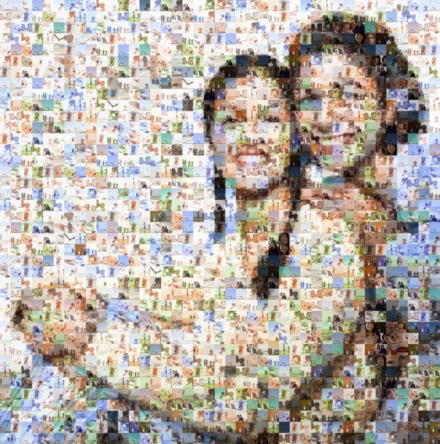 Cómo hacer un collage de amigos en Facebook