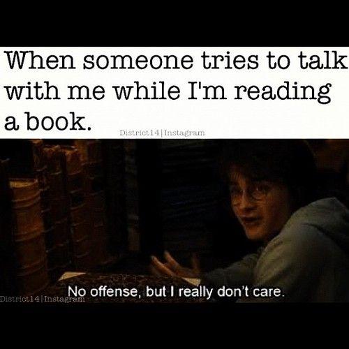 I really don't.: