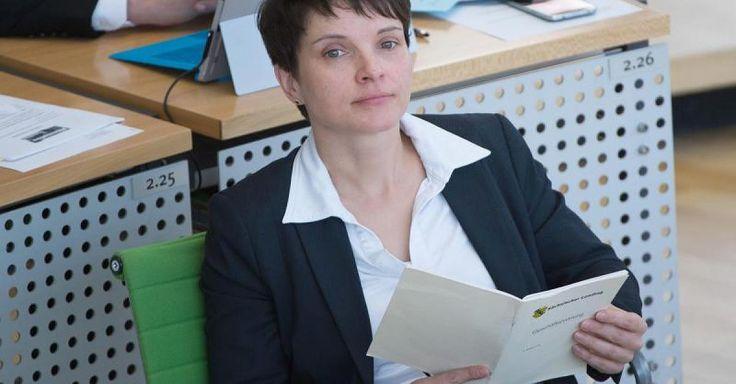 AfD-Chefin Petry will Gutverdiener in gesetzliche Rentenversicherung zwingen