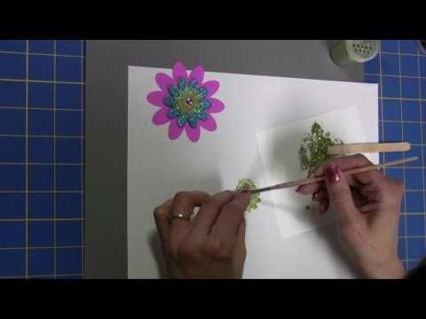 Easy-to-Make Glitter Paste - YouTube
