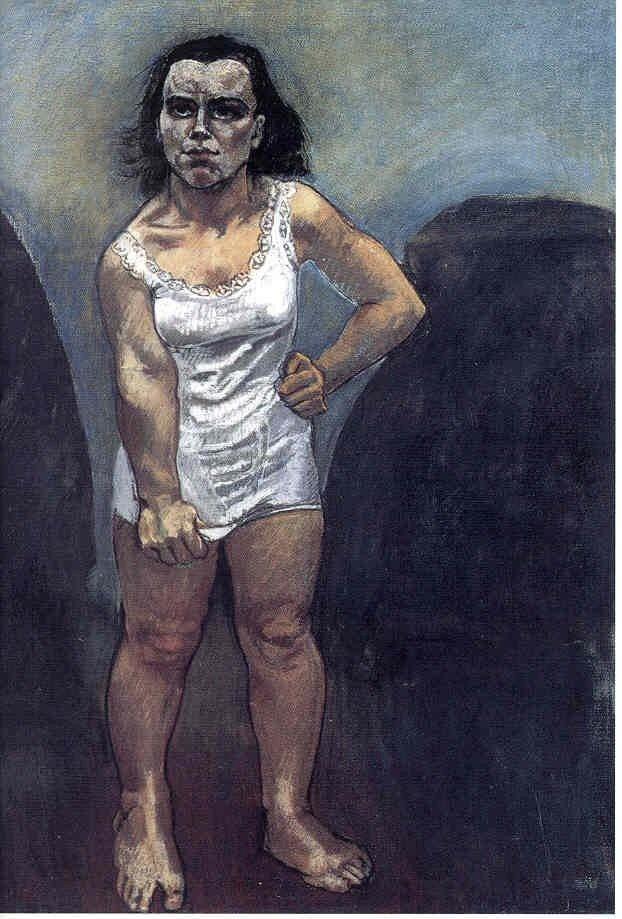 """Paula Rego """"Untitled"""" 1995, Pastel on paper mounted on aluminum, 160 x 120 cm."""