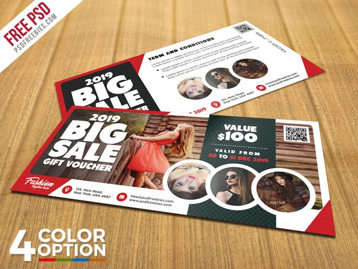 Download Big Sale Gift Voucher PSD Template Bundle. Big Sale Gift Voucher PSD Template Bundle Design is best suitable promoting upcoming sale for your business, product or services like fashion store, apparel sale, cosmetics, boutique, mall, restaurant and so on. This Big Sale Gift Voucher PSD Template Bundle is designed and created in adobe Photoshop.